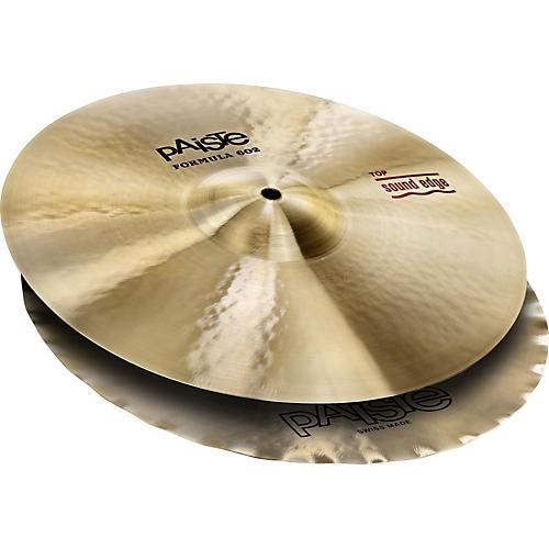 Paiste Formula 602 Series Sound Edge Hi-Hats 14 in.