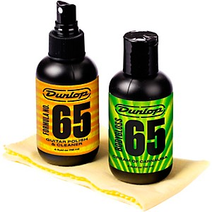 Dunlop Formula 65 Guitar Polish Kit by Dunlop