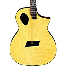 Michael Kelly Forte Port X Offset Soundhole Cutaway Acoustic-Electric Guitar Level 1 Natural