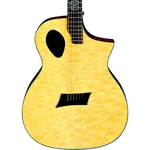 Michael Kelly Forte Port X Offset Soundhole Cutaway Acoustic-Electric Guitar-thumbnail