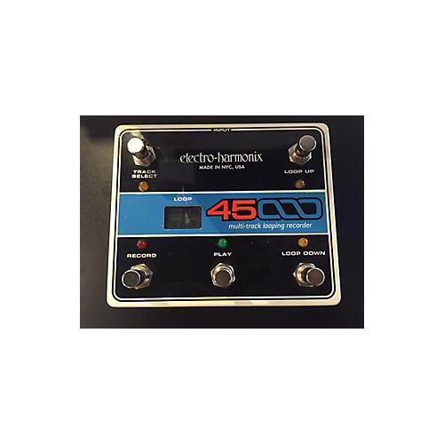 Electro-Harmonix Forty-five Thousand Multi-track Looping Recorder Footswitch Pedal