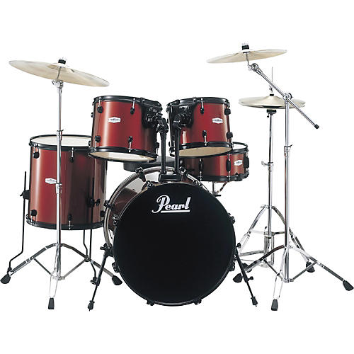 Pearl Forum 5-Piece Drum Set with Meinl Cymbals and SP Hardware