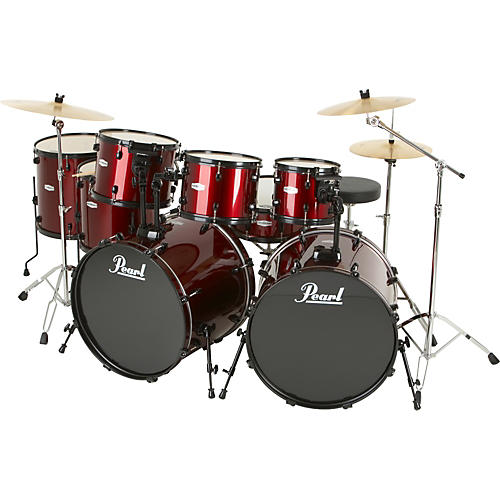 Pearl Forum 8-Piece Double-Bass Shell Pack
