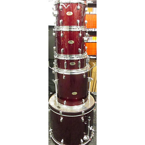 Pearl Forum Drum Kit Wine Red