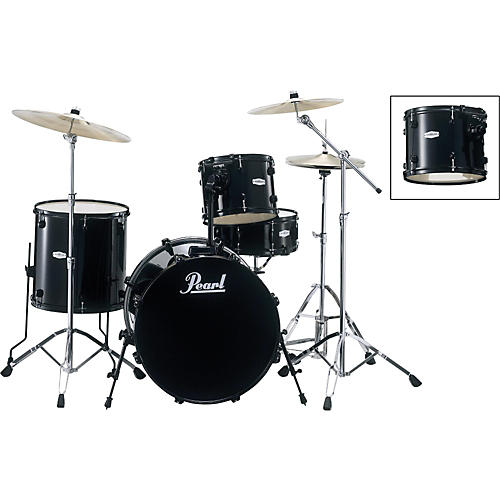 Pearl Forum FZ724 4-Piece Drum Set with Free 10x7 Tom