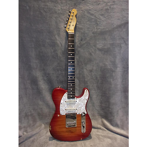 Fender Foto Flame Deluxe Telecaster Solid Body Electric Guitar
