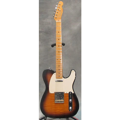 Fender Foto Flame Mij Telecaster Solid Body Electric Guitar-thumbnail
