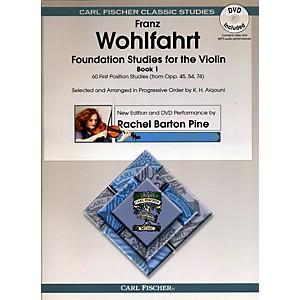 Carl Fischer Foundation Studies for Violin Book 1 Book + DVD by Carl Fischer