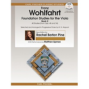 Carl Fischer Foundation Studies for the Viola - Book 2 from Opp. 45 and 74... by Carl Fischer