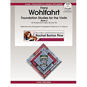 Carl Fischer Foundation Studies for the Violin, Book 2 Book + DVD by Carl Fischer