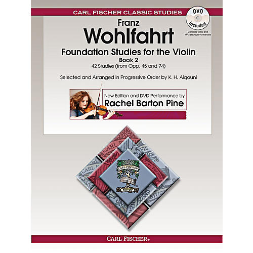Carl Fischer Foundation Studies for the Violin, Book 2 (Book + DVD)-thumbnail