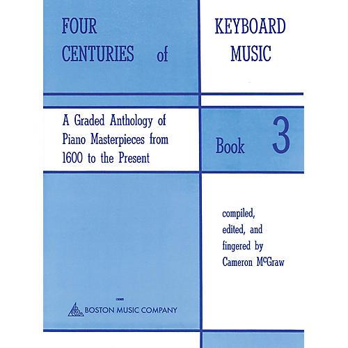 Music Sales Four Centuries Of Keyboard Music Book 3 Music Sales America Series