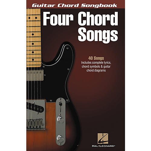 Hal Leonard Four Chord Songs - Guitar Chord Songbook-thumbnail