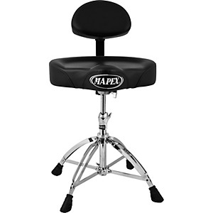 Mapex Four Legged Double Brace Throne with Adjustable Back Rest by Mapex