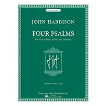 Associated Four Psalms (for Vocal Soloists, Chorus and Orchestra) composed by John Harbison
