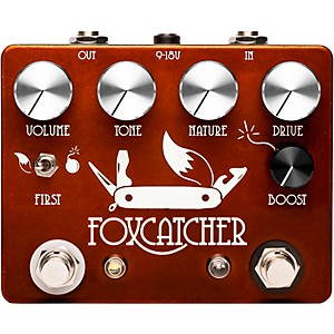 CopperSound Pedals Foxcatcher Clean Boost Effects Pedal by CopperSound Pedals