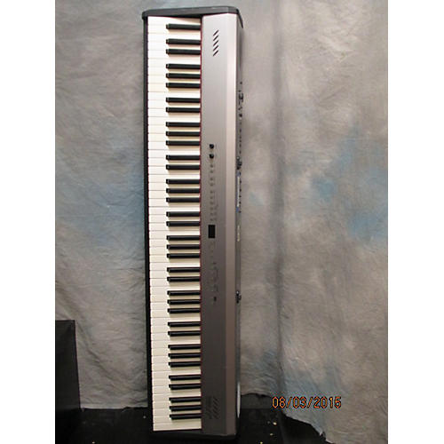 Roland Fp2 Black And Silver Digital Piano