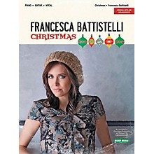 Word Music Francesca Battistelli - Christmas Vocal Songbook With Piano