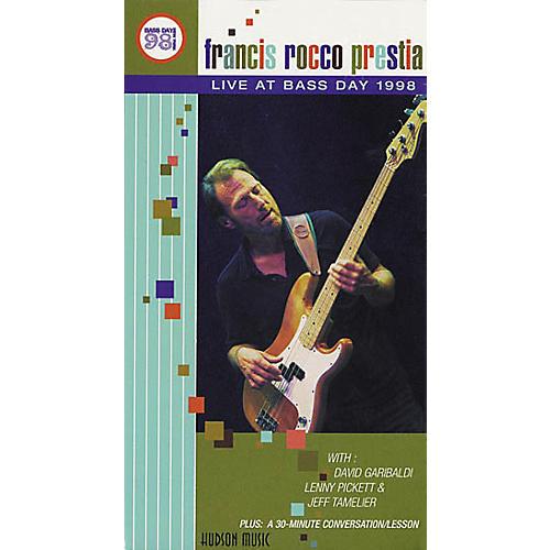 Hudson Music Francis Rocco Prestia Live at Bass Day (VHS)-thumbnail