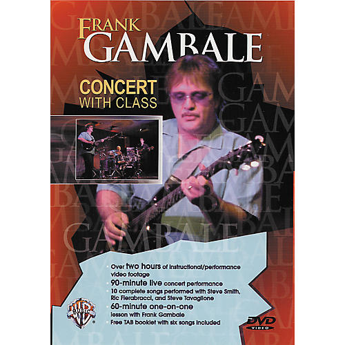 Alfred Frank Gambale - Concert with Class DVD-thumbnail