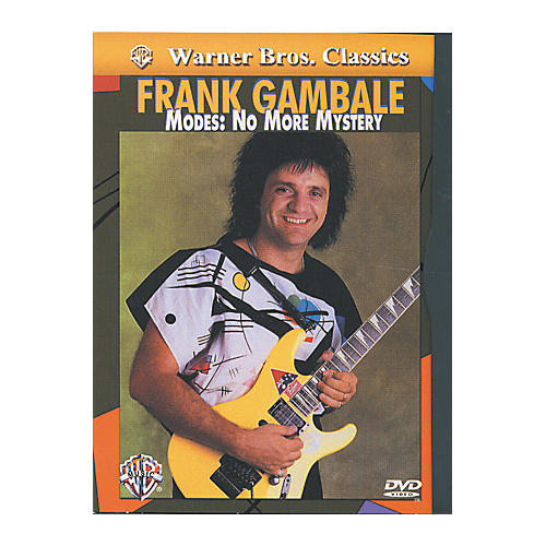 Alfred Frank Gambale - Modes No More Mystery DVD-thumbnail