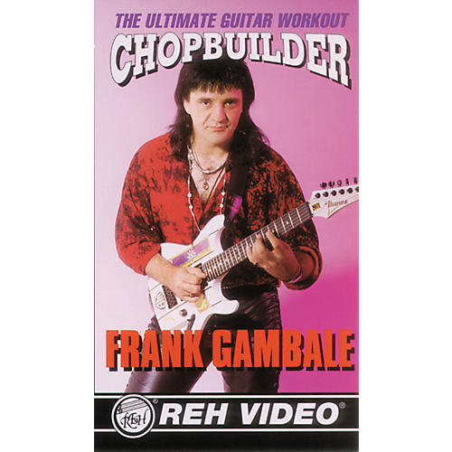 Alfred Frank Gambale Chop Builder DVD