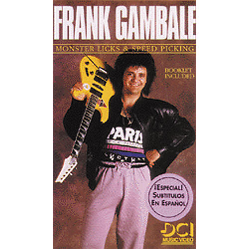 Alfred Frank Gambale Monster Licks - Speed Video-thumbnail
