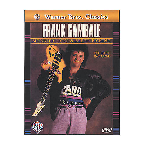 Alfred Frank Gambale Monster Licks & Speed Picking DVD