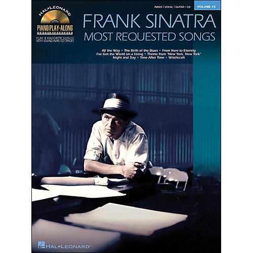Hal Leonard Frank Sinatra - Most Requested Songs Volume 45 Book/CD Piano Play-Along arranged for piano, vocal, and guitar (P/V/G)-thumbnail