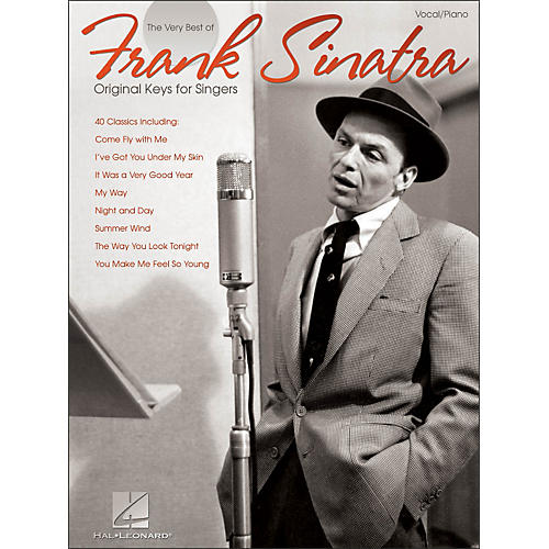Hal Leonard Frank Sinatra - The Very Best Original Keys for Singers Vocal / Piano