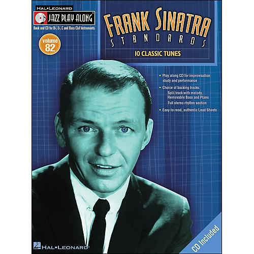 Hal Leonard Frank Sinatra Standards jazz Play-Along Volume 82 Book/CD