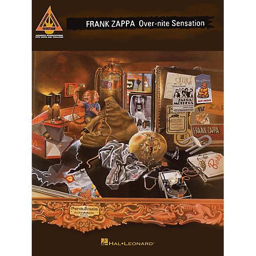 Hal Leonard Frank Zappa - Over-Nite Sensation Guitar Tab Songbook
