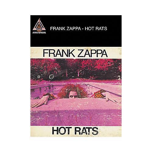 Hal Leonard Frank Zappa Hot Rats Guitar Tab Book