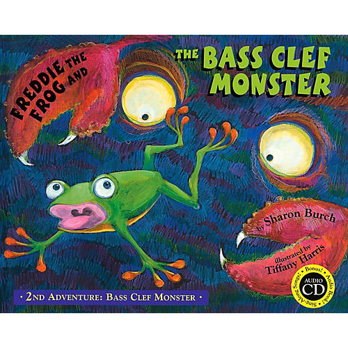 Hal Leonard Freddie The Frog And The Bass Clef Monster Flash Card Set-thumbnail