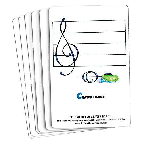 Hal Leonard Freddie The Frog And The Secret Of Crater Island Flash Card Set