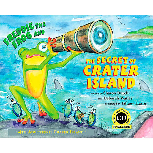 Hal Leonard Freddie The Frog and The Secret Of Crater Island (Book/CD)-thumbnail