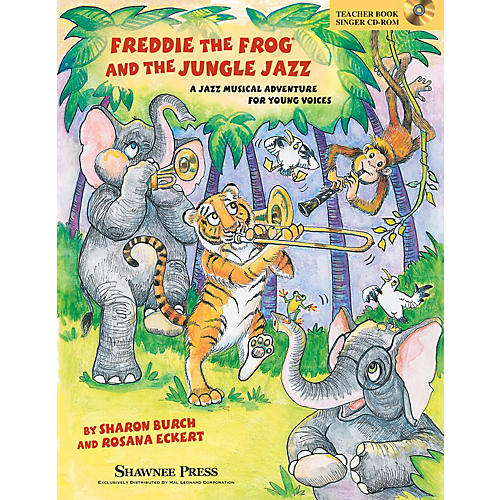 Shawnee Press Freddie the Frog and the Jungle Jazz PREV CD PAK Composed by Sharon Burch