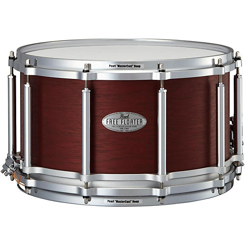 Pearl Free Floating African Mahogany Snare Drum-thumbnail