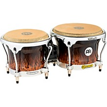 Meinl Free Ride Series High Gloss Wood Bongos Level 1 Brown Burl 7 in. and 8-1/2 in.
