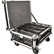 Chauvet DJ Freedom Charge 9 Stage/DJ Light Rolling Road Case