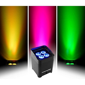 CHAUVET DJ Freedom Par Quad-4 IP Indoor/Outdoor Battery-Powered Wirelss LED...