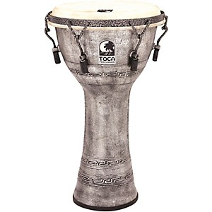 Toca Freestyle Antique-Finish Djembe by Toca