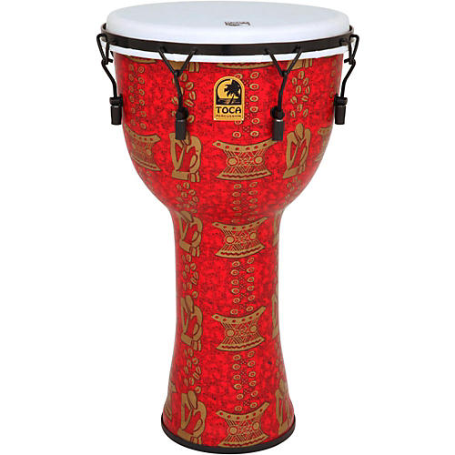 Toca Freestyle II Mechanically-Tuned Djembe with Bag-thumbnail