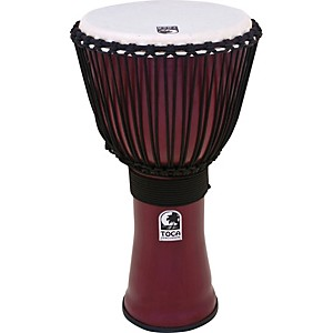Toca Freestyle II Rope-Tuned Djembe by Toca
