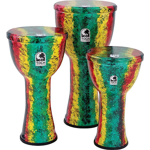 Toca Freestyle Lightweight Djembe Drum African Dance 9 in.