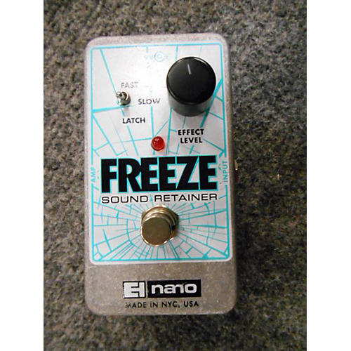 Electro-Harmonix Freeze Sound Retainer Compression Effect Pedal