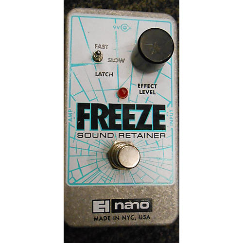Electro-Harmonix Freeze Sound Retainer Compression Effect Pedal-thumbnail