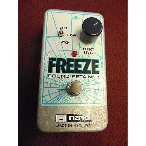 Electro-Harmonix Freeze Sound Retainer Compression Effect Pedal-thumbnail