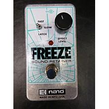 Electro-Harmonix Freeze Sound Retainer Compression Effect Pedal