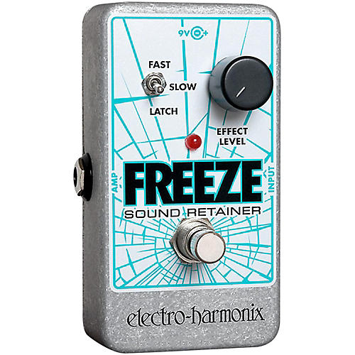 Electro-Harmonix Freeze Sound Retainer Compression Guitar Effects Pedal